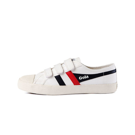 Coaster Velcro Off White/Navy/Red_CMA478WX