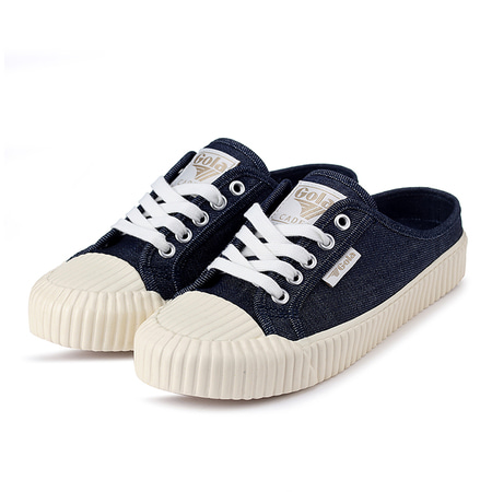 Cadet Denim Mule Indigo/Off White_CLB072EW